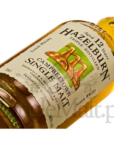Hazelburn 12 Years Old / 46% / 0,7 l