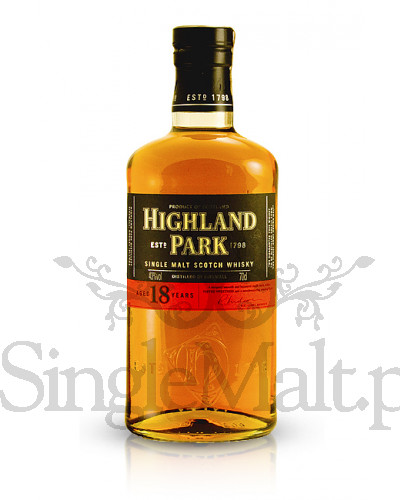 Highland Park 18 Years Old / 43% / 0,7 l