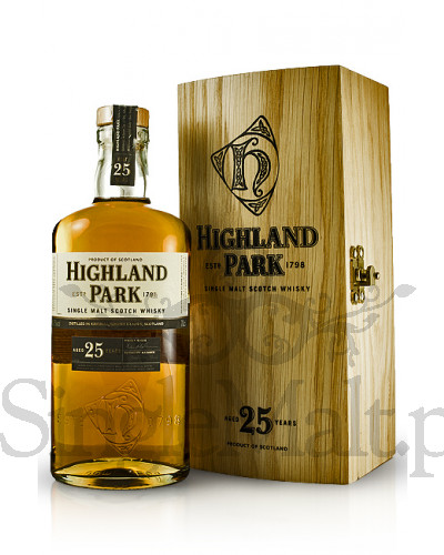 Highland Park 25 Years Old (skrzynka) / 45,7% / 0,7 l