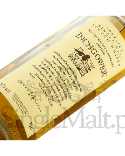 Inchgower 14 Years Old 'Flora & Fauna' / 43% / 0,7 l