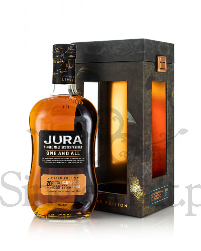 Jura 20 Years Old One and All / 51% / 0,7 l