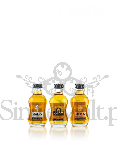 Zestaw Jura / Superstition, 10 YO Orgin, 16 YO Diurach's Own / 41% / 3 x miniaturka 0,05 l