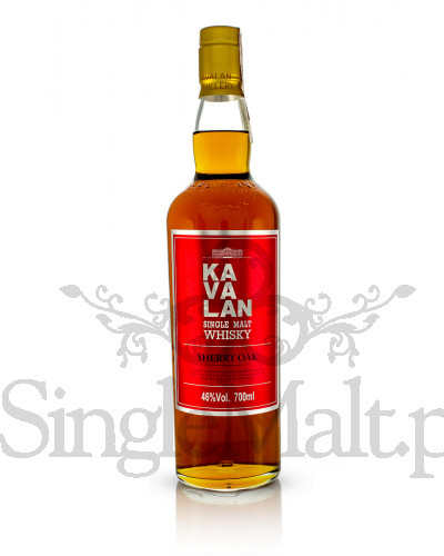 Kavalan Sherry Oak / 46% / 0,7 l