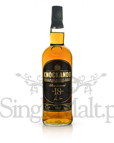 Knockando 18 Years Old Slow Matured / 1998 / 43% / 0,7 l (skrzynka)