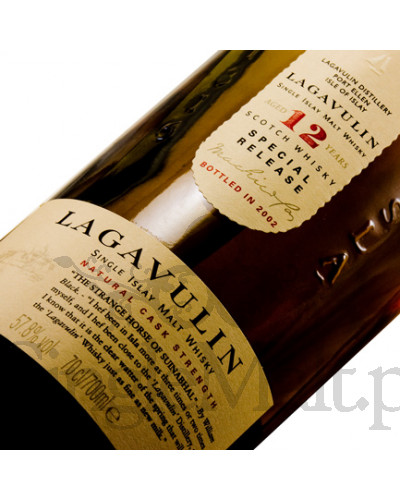 Lagavulin 12 Years Old / 2002 / 57,8% / 0,7 l