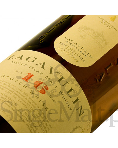 Lagavulin 16 Years Old / 43% / mała butelka 0,2 l