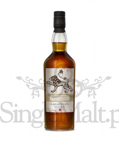Lagavulin 9 Years Old / Game of Thrones / House Lannister / 46% / 0,7 l