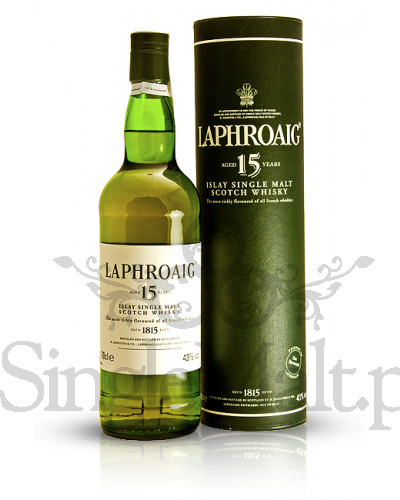 Laphroaig 15 Years Old / 43% / 0,7 l