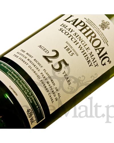 Laphroaig 25 Years Old (skrzynka) / 40% / 0,7 l