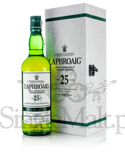 Laphroaig 25 Years Old / 48,9% / 0,7 l