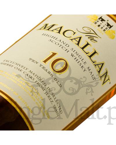 Macallan 10 Years Old Sherry Oak  / 40% / 0,7 l