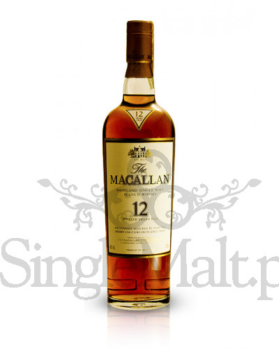 Macallan 12 Years Old Sherry Oak  / 40% / 0,7 l