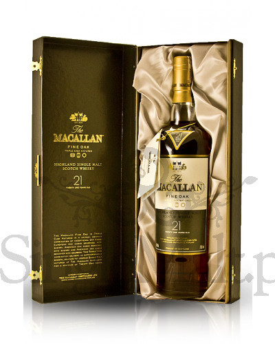 Macallan 21 Years Old Fine Oak  / 43% / 0,7 l