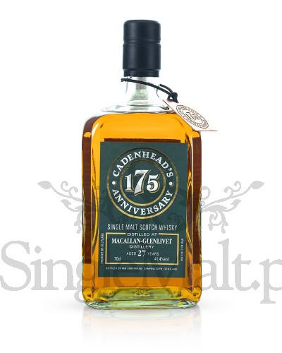 Macallan-Glenlivet 27 Years Old / 1990 / Cadenhead / 41,4% / 0,7 l