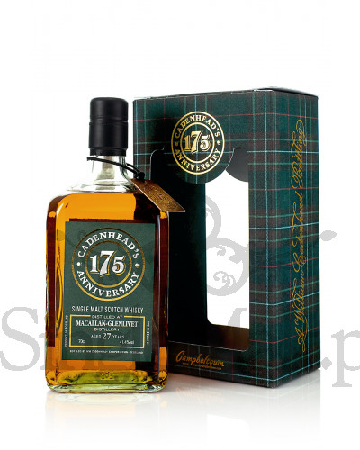 Macallan-Glenlivet 27 Years Old / 1990 / Cadenhead / 41,4% / 0,7 l