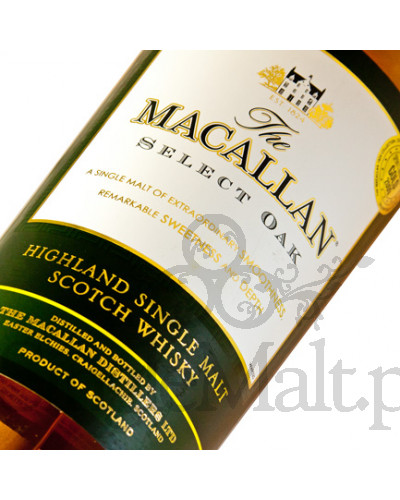 Macallan Select Oak / The 1824 collection / 40% / 1,0 l