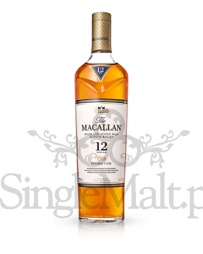 Macallan 12 Years Old Double Cask + 2 szklanki / 40% / 0,7 l