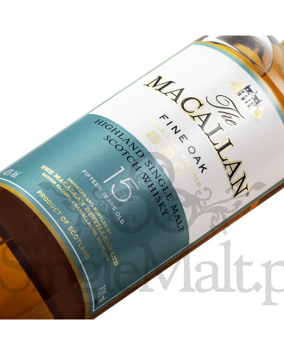 Macallan 15 Years Old Fine Oak / 43% / 0,7 l