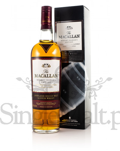 Macallan Whisky Makers Edition / 42,8% / 0,7 l