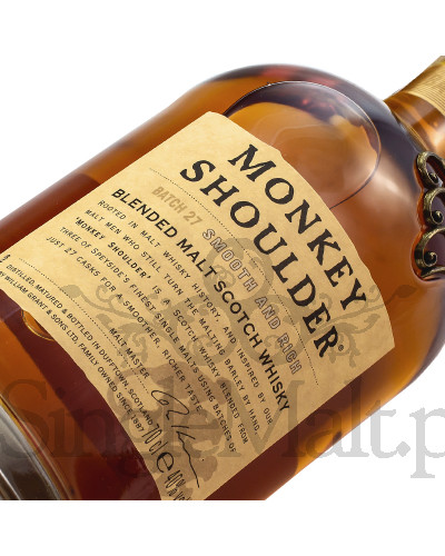 Monkey Shoulder / Blended Malt / 40% / 0,7 l