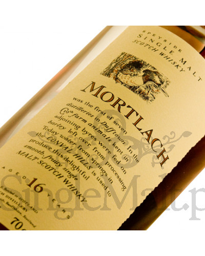 Mortlach 16 Years Old 'Flora & Fauna' / 43% / 0,7 l