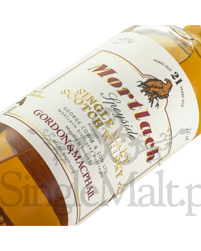 Mortlach 21 Years Old / Gordon&Macphail / 43% / 0,7 l