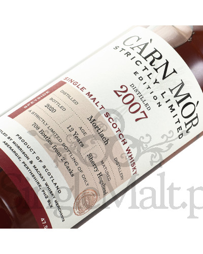 Mortlach 12 Years Old / 2007 / Strictly Limited Edition / 2020 / Carn Mor / 47,5% / 0,7 l