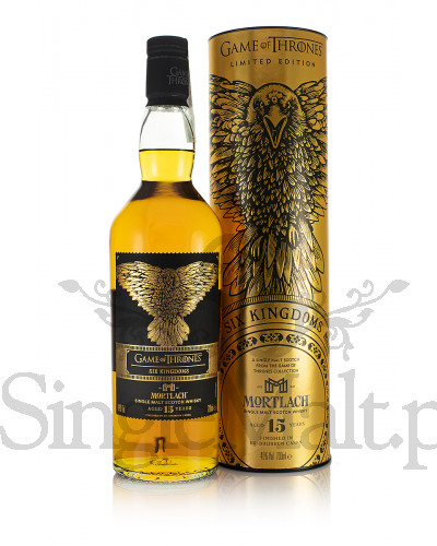 Mortlach 15 Years Old / Game of Thrones / Six Kingdom's / 46% / 0,7 l