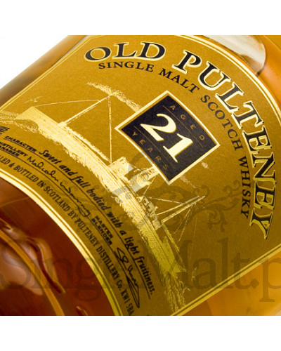 Old Pulteney 21 Years Old / 46% / 0,7 l