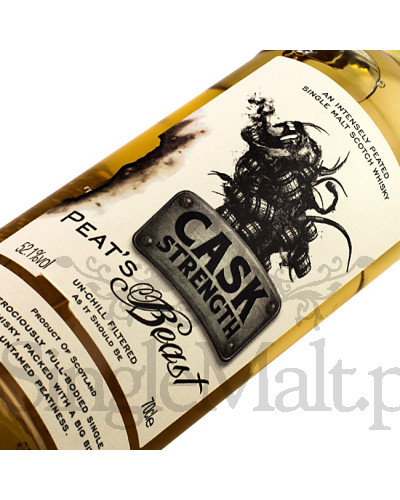 Peat's Beast Cask Strength / 52,1% / 0,7 l