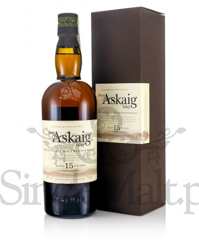 Port Askaig 15 Years Old / Sherry Cask / 45,8% / 0,7 l