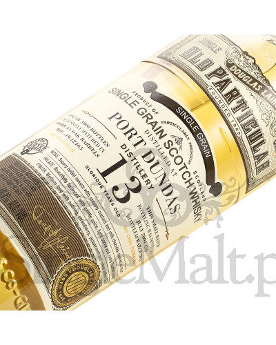 Port Dundas 13 Years Old / 2004 / single grain / Old Particular / DL12465 / Douglas Laing / 2018 / 48,4% / 0,7 l