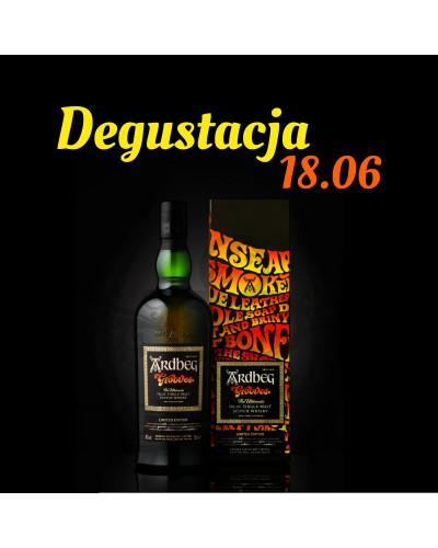 Degustacja whisky Ardbeg Grooves