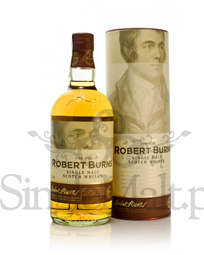 Isle of Arran Robert Burns Single Malt / 43% / 0,7 l