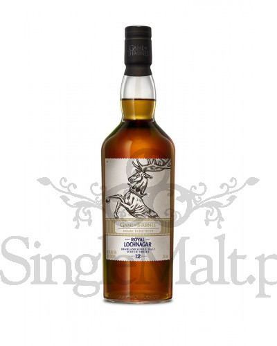 Royal Lochnagar 12 Years Old / Game of Thrones / House Baratheon / 40% / 0,7 l