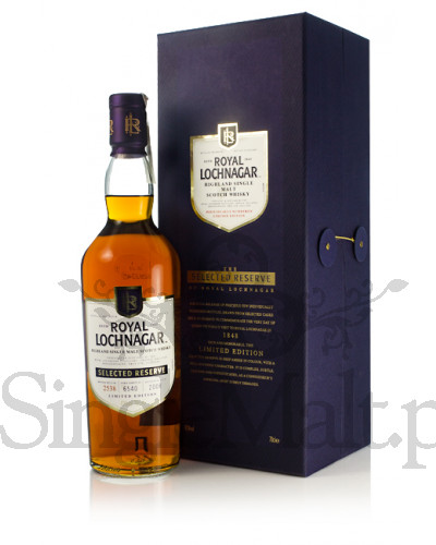 Royal Lochnagar Selected Reserve 2008 / 43% / 0,7 l