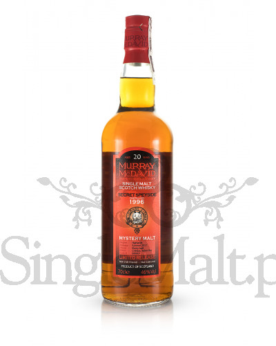 Secret Speyside 20 Years Old / 1996 / Murray McDavid / 2017 / 46% / 0,7 l