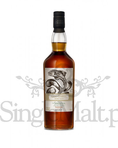 The Singleton Glendullan Select / Game of Thrones / House Tully / 40% / 0,7 l