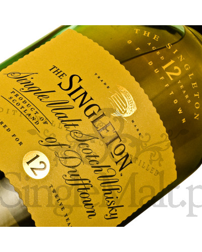 Singleton of Dufftown 12 Years Old + 2 szklanki / 40% / 0,7 l
