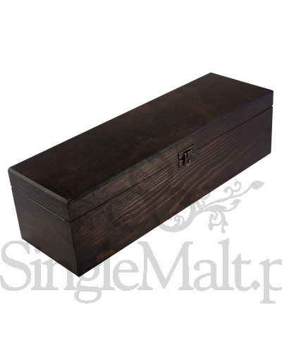 Skrzynka drewniana - ciemny brąz