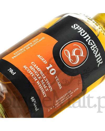 Springbank 10 Years Old / 46% / 0,7 l