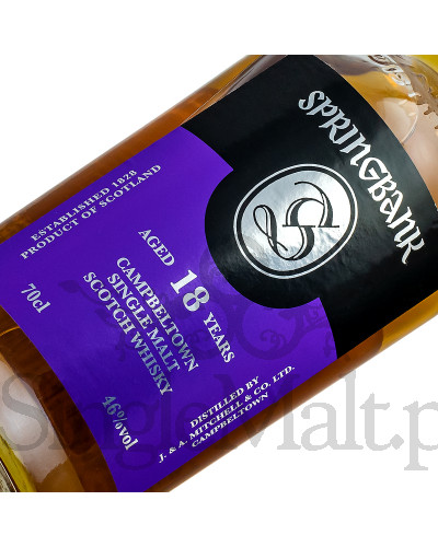 Springbank 18 Years Old / 46% / 0,7 l