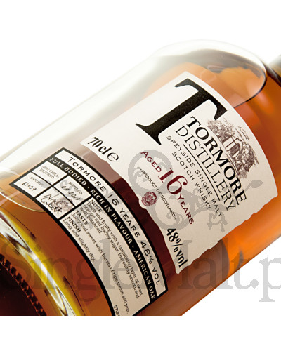 Tormore 16 Years Old (batch B1309) / 2013 / 48% / 0,7 l