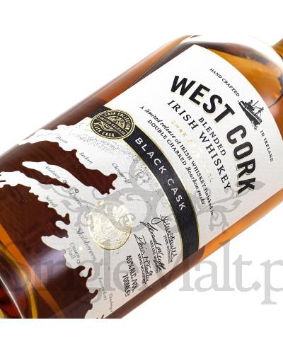 West Cork Black Cask / Blended Irish Whiskey / 40% / 0,7 l
