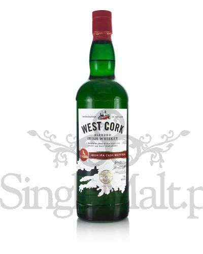 West Cork / IPA Cask Matured / Blended Irish Whiskey / 40% / 0,7 l
