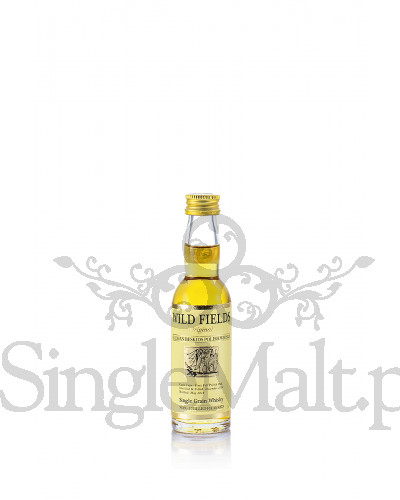 Wild Fields Original Single Grain Polish Whisky / 44% / miniaturka 0,04 l
