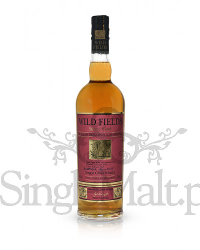 Wild Fields Sherry Cask Single Grain Polish Whisky / 44% /  0,7 l