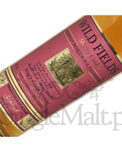 Wild Fields Sherry Cask Single Grain Polish Whisky / 44% /  0,7 l