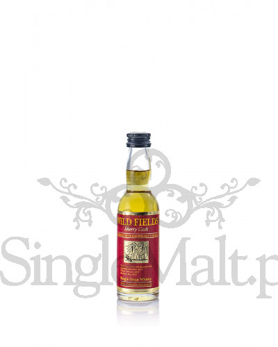 Wild Fields Sherry Cask Single Grain Polish Whisky / 44% /  miniaturka 0,04 l