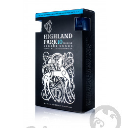 Highland Park 10 Years Old + 2 szklanki / 40% / 0,7 l